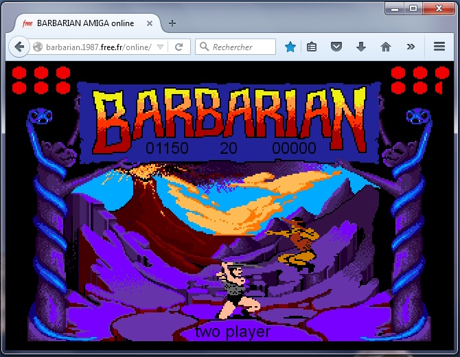 BARBARIAN ONLINE